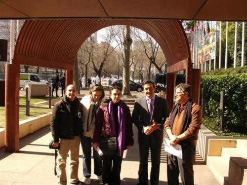 con el director de OPE España